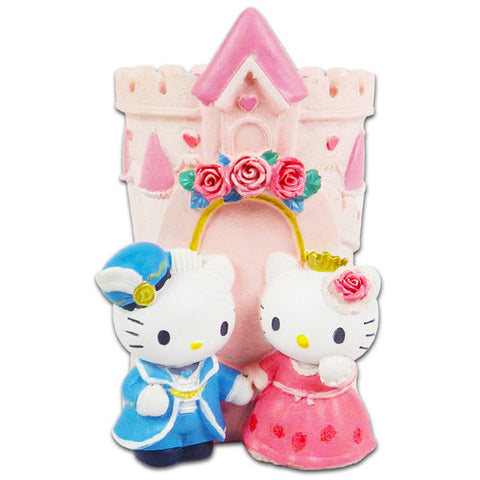Hello Kitty & Daniel Love Castle Ceramics Desk Tidy Pen Holder
