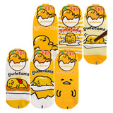 Sanrio Taiwan Gudetama Lazy Egg Cute Short Socks