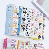 Cute Cartoon Animals MEMO Stick Markers Stick Bookmarks