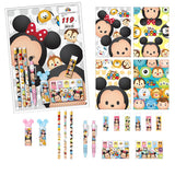 Disney TSUM TSUM L File Stationery Gift Sets of 8 Items