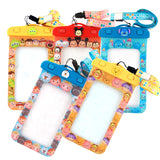 Disney Tsum Tsum Mickey Winnie Stitch Waterproof Smartphone Case Protective Bag