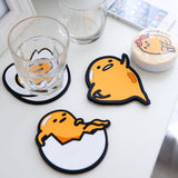 Sanrio Gudetama Lazy Egg Cute Silicon Coasters