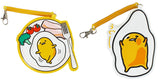Japan Sanrio Gudetama Leather ID Card Badge Holder
