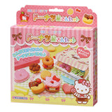 Japan Hello Kitty DIY Donuts Shop Clay Toys Kid Playset