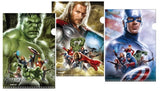 Marvel Hero Avengers L Shape A4 Document File L-folder