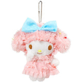 My Melody Plush Doll Soft Toy Medium Size Bag Charms from Japan