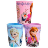 Korea Disney Frozen Cute Plastic Cup Set of 3 (180ml)
