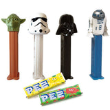 Star Wars R2-D2 Darth Vader Yoda Stormtrooper PEZ Candy Dispensers Toys