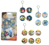 Disney Pixar Toy Story 3D Puzzles Ball DIY Key Chain (24 Pieces)