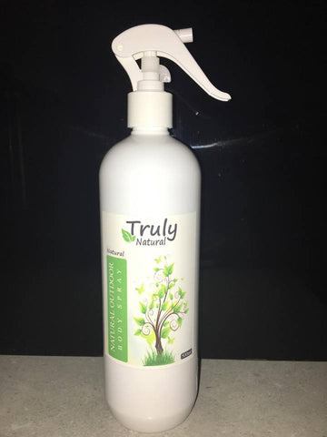 Truly Natural Outdoor Body Spray 500ml - Truly Natural ointment