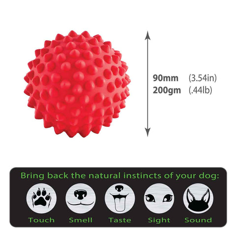 Aussie Dog Red Catch Ball - Truly Natural ointment