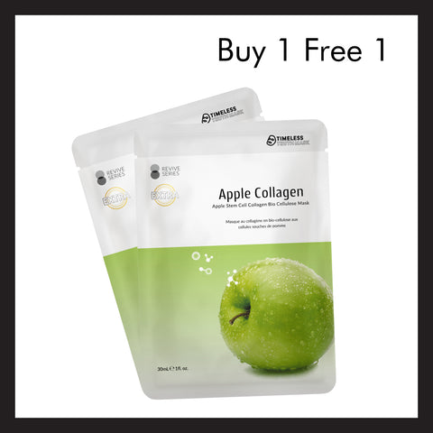 (Buy 1 Free 1) Apple Stem Cell Collagen Bio Cellulose Mask