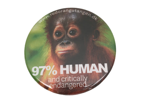 Red Orangutangen badge