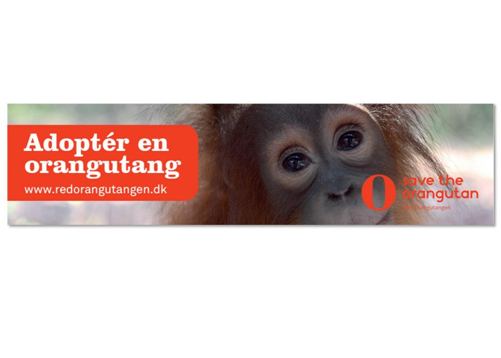 Red Orangutangen bilstreamer