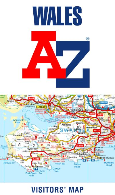 WALES A-Z VISITORS MAP MFO