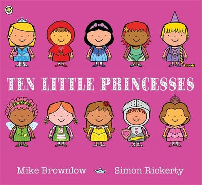 Ten Little Princesses