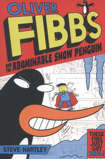 Oliver Fibbs 3 Abominable Snow Penguin