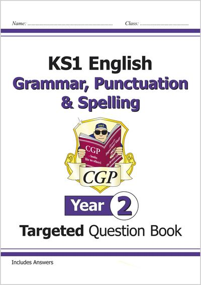 KS1 English Targeted Question Bk Grammar