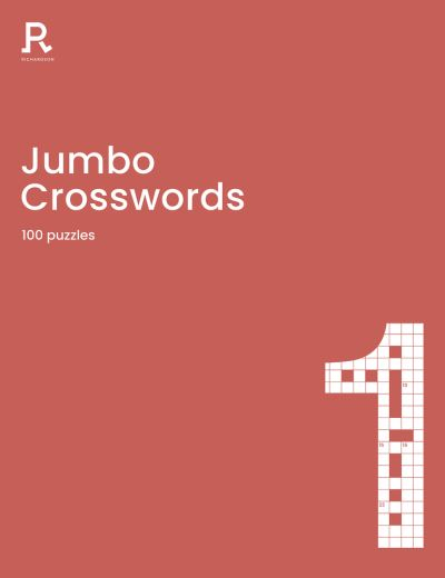 Jumbo Crosswords Book 1: a super-sized crossword book for adults containing 100