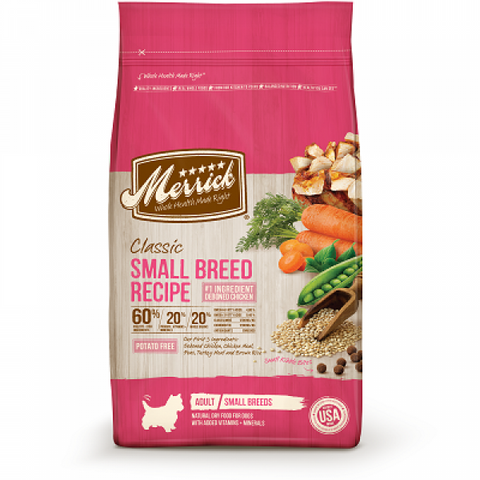 MERRICK Classic Small Breed Recipe - My Pooch and Co.