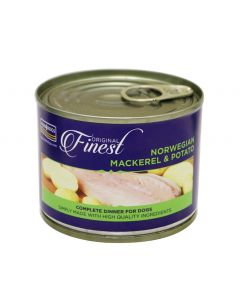 Fish4Dogs Mackerel Complete Wet Dog Food 185g