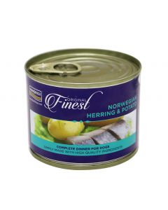 Fish4Dogs Herring Complete Wet Dog Food 185g - My Pooch and Co.