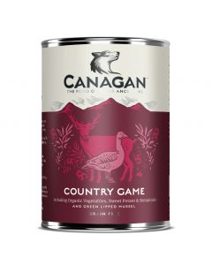 CANAGAN Country Game Wet Food 400g - My Pooch and Co.
