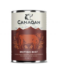 CANAGAN British Beef Wet Food 400g - My Pooch and Co.