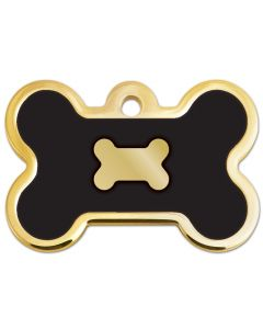 Epoxy Gold & Black Bone - My Pooch and Co.