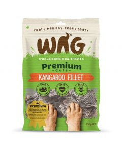 WAG Premium Cuts Kangaroo Fillet - My Pooch and Co.