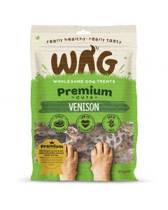 WAG Premium Cuts Venison - My Pooch and Co.
