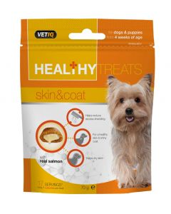 M&C Healthy Treats Skin & Coat for Dogs & Puppies 70g - My Pooch and Co.