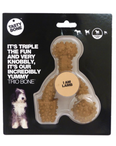 TASTY BONE Trio Nylon Lamb - My Pooch and Co.