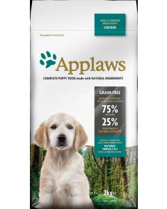 APPLAWS Puppy Chicken Small & Medium 2kg - My Pooch and Co.
