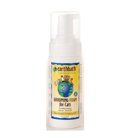 Earthbath Hypo-Allergenic Fragrance-Free Grooming Foam - My Pooch and Co.