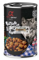 ALPHA SPIRIT Meat Balls With Boar & Thyme 400gm - My Pooch and Co.