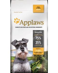 APPLAWS Dog Senior Chicken 2kg - My Pooch and Co.
