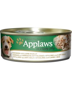 APPLAWS Dog Chicken with Lamb in Jelly 156g - My Pooch and Co.