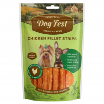 Dog Fest Chicken Fillet Strips 55g - My Pooch and Co.
