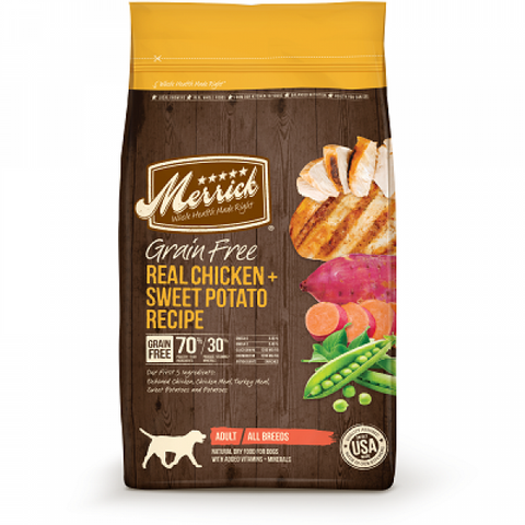 MERRICK Grain Free Real Chicken & Sweet Potato Recipe - My Pooch and Co.