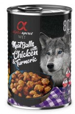 ALPHA SPIRIT Meat Balls With Chicken & Turmeric 400gm - My Pooch and Co.
