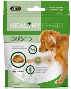 M&C Healthy Treats Joint & Hip for Dogs & Puppies 70g (Exp. 10/20) - My Pooch and Co.