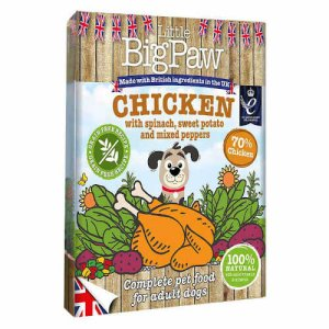 LITTLE BIG PAW Dog Chicken with Spinach 390g - My Pooch and Co.