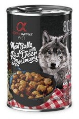 ALPHA SPIRIT Meat Balls With Red Deer & Rosemary 400gm - My Pooch and Co.