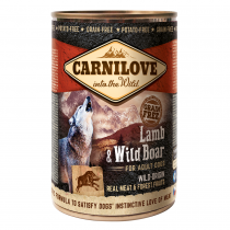 CARNILOVE Lamb & Wild Boar For Adult Dogs 400g - My Pooch and Co.
