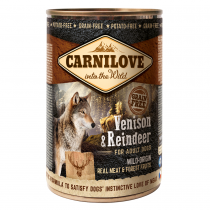CARNILOVE Venison & Reindeer For Adult Dogs 400g - My Pooch and Co.