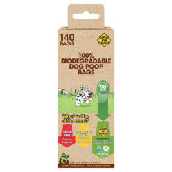 100% Biodegradable Poop Bags - My Pooch and Co.