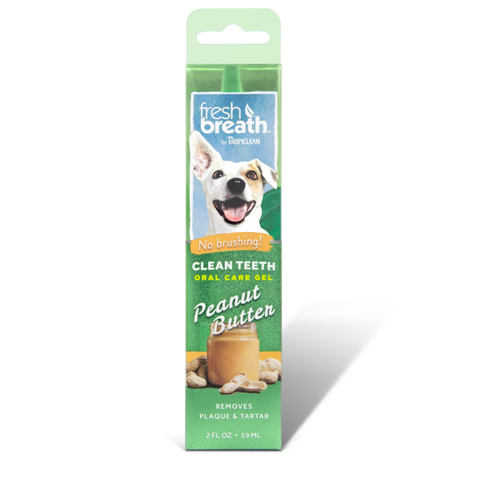 Clean Teeth Oral Care Gel Peanut Butter - My Pooch and Co.