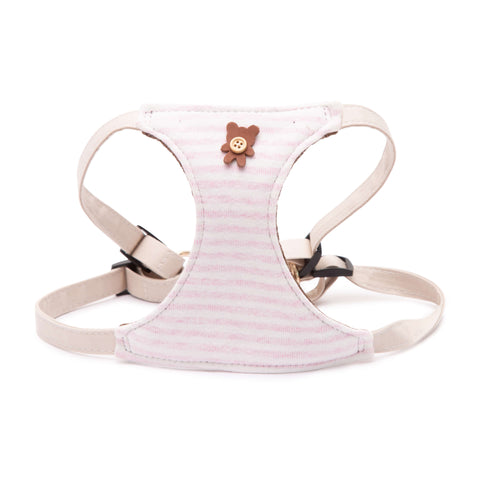 PAWSITIV Handmade Coco Pink Harness - My Pooch and Co.