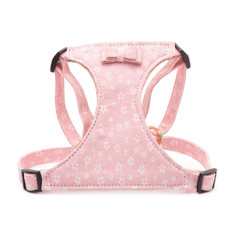 PAWSITIV Handmade Daisy Pink Harness - My Pooch and Co.